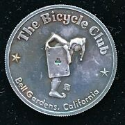 The Bicycle Club Card Casino 999 Fine Silver 1 Troy Ounce Coin Card Protector