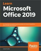 Learn Microsoft Office 2019 A Comprehensive Guide To Getting Started With Word
