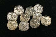 Rare Set Of 10 Armand Bargas Signed French Buttons Nouveau Lady W/ Dragonfly