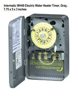 Wh40 Electric Water Heater Timer, Gray, 7.75 X 5 X 3 Inches Water Heater Timer