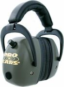 Pro-ears Pro Mag Gold Hearing Protection Headset, Green Psdpmg