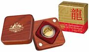 2012 Year Of The Dragon Lunar Series - 10 1/10oz Gold Proof Coin Ram