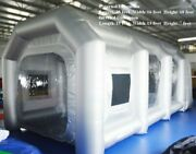 231610and039and039 Giant Oxford Inflatable Car Spray Painting Booth With 2 Blower