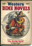 Western Dime Novels 1 5/1940-red Star-1st Issue-silver Buck 1st Appearance And...