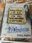 Daryl Dixon Walking Dead 2018 Topps Road To Alexandria Patch Auto 2/5 Wow