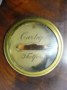 Very Fine Early 19th C English Barometer By Carley Of Thetford Circa 1830