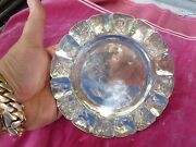 12 Mexican J Viguera Mid Century 6 1/8 Dia. Sterling Silver Plates 58 Troy Oz