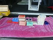 28 Assorted Airline Playing Card Decks Sold As Found Some New Some Used