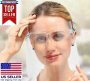 500 Face Shield Mask Safety Protection With Glasses Reusable Anti Fog Usa Seller