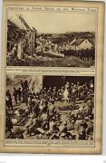 1919 American Red Cross First Aid Station France Wwi World War I Rotogravure