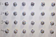 Lot Of 100 Ceramic Knob Drawer Pull Cabinet Cupboard Halloween Gifts Kb-2