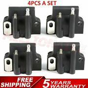 4 Ignition Coil Fits Johnson Evinrude 582508 18-5179 183-2508 Outboard Engine