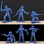 Marx Recast Rin Tin Tin Cavalry - 10 In 6 Poses - 60mm Toy Soldiers - 1980s