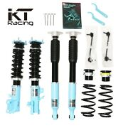 Kt Suspension Adjustable Coilover For 04-10 Benz Cls-class W219 E-class W211