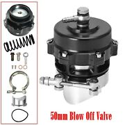 Tial Q 50mm Blow Off Valve Bov Flange Black Up To 35psi - 6psi+18psi Springs