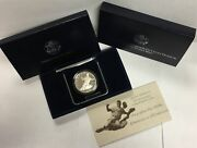 1997-s 1 Jackie Robinson Olympic Commemorative Silver Dollar In Ogp Proof