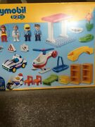 Playmobil 5046 Hospital With Paramedics And Police Officers Playset - New