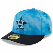 New Era 59fifty Fathers Day Collection Houston Astros Lo-pro Fitted Cap Sz 7 3/8