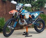 Ktm Bash Plate With Pipe Guard 2020-22 Models 250/300 2t Exc Xc Xcw Tpi Sx Link