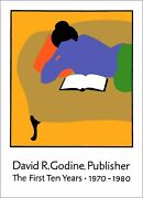 Lance Hidy / Signed Poster David R Godine Publisher Lance Hidy Posters