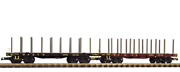 Piko G Scale 38743 White Pass And Yukon Route Wpandyr Flatcar 2-pack G-scale