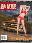 Traditional Rod And Kulture Illustrated 38 Summer 2014-hot Rods-pin-up Girls-c...