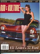 Traditional Rod And Kulture Illustrated 40 Winter 2014-hot Rods-pin-up Girls-c...