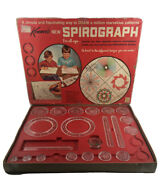 Spirograph 1967 Vintage Kenner 401 Art Set With Manual-minus Pens, 36, 50 And 52