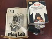 Vintage 1975 Play Lab Microscope Projector Set W/ Box Kidand039s Toy Japan Alabe Ny