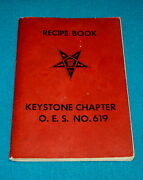 1950s Cook Book Order Of The Eastern Star Keystone Chapter No. 619 @ Recipes