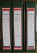 Collection 3 Albums With Over 875 Wine Labels Italy 1964-1999