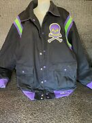 Pirates Men Stall And Dean Bomber Jacket 4xl Heavy Quilted Lined Coat Brown Cotton