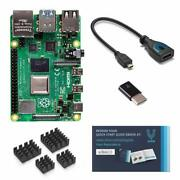 Vilros Raspberry Pi 4 With Usb-c And Micro Hdmi Adapters