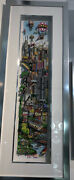 Charles Fazzino A Deep Dish Pie Chi Town Chicago Pizza Limited Edition