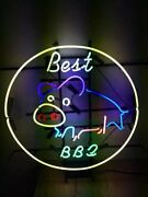 Best Bbq Pig 17x17 Neon Sign Lamp Bar With Dimmer