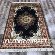 Yilong 5and039x8and039 Handmade Classic Silk Carpet Vintage Home Office Indoor Rug Lh959b