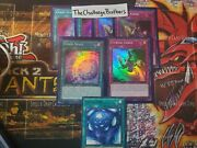 Yugioh Toon Chaos 7 Card Lot Everything In Photo M/nm 1st Edition