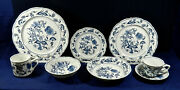 88- Regular Pieces Or Less Of Blue Danube Japan Fine China