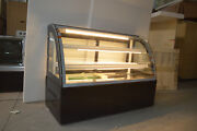 47and039and039countertop Bekery Cabinet Display Case Glass Refrigerated Cake Showcase 220v
