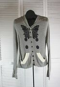 Final Reduction - Women's Sweaters Sass And Bide Nwt So Many Ways Hoodie Large
