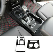 Carbon Fiber 4wd And Gear Shift Box Panel Trim For Toyota 4runner 10+ Sr5/limited