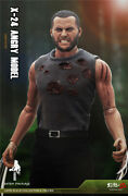 Wolverine 16 Wolf Uncle Head Carving Body Clothes Model Toy 12 Action Figure