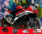 Msa Injection Mold Plastic Red Fairing Kit Fit For Yamaha 2008-2016 Yzf R6 R002