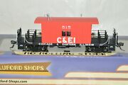 Ho Scale Bluford Shops Transfer Caboose Car Train Chicago And Eastern Illinois Ry