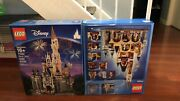 Limited Release Disney Castle Playset By Lego 71040