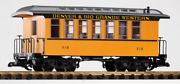 Piko G Scale 38610 Dandrgw Wood Coach 319 G-scale