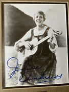 Julie Andrews Signed 8'' X 10'' Photo The Sound Of Music Original Registered Wdw
