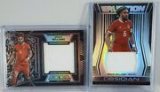 2019-20 Panini Obsidian Lot Of 2 Ashley Williams Patch 085/125 And 058/199 Wales