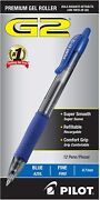 Pilot G2 Premium Refillable And Retractable Rolling Ball Gel Pens, Fine Point,
