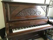 Gorgeous Antique Upright Piano
